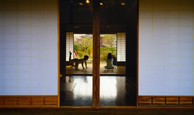 障子のある日本家屋