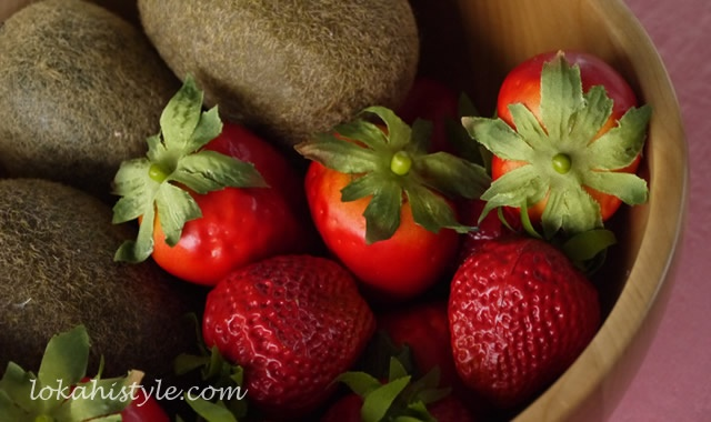 果物のおきもの